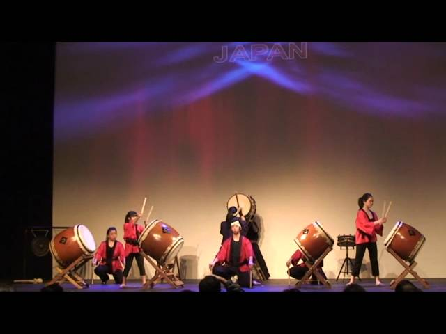 Yakudo group of Taiko drummers - part 1