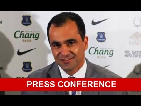 Roberto Martinez - Press Conference (Everton)