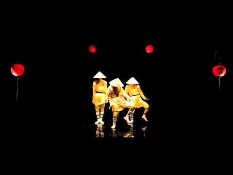 Đội nón lá nhảy Popping Hiphop cực đỉnh   P2   Full HD