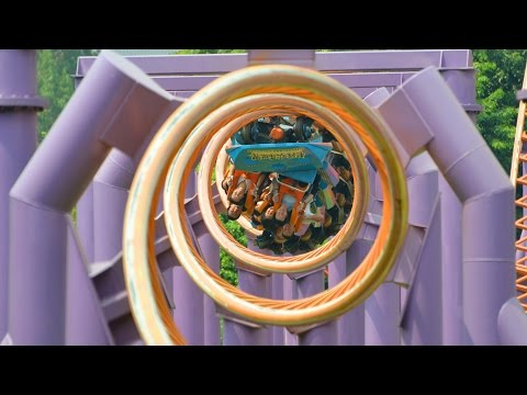 10 Inversion Roller Coaster POV Chimelong Paradise China 1080p HD