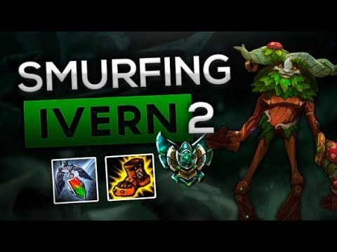 THE IVERN GOD GAMEPLAY! HOW TO JUNGLE GUIDE SEASON 8! UNRANKED TO CHALLENGER NA - League of Legends