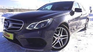 2013 Mercedes-Benz E300 4Matic. Обзор (интерьер, экстерьер, двигатель).. MegaRetr