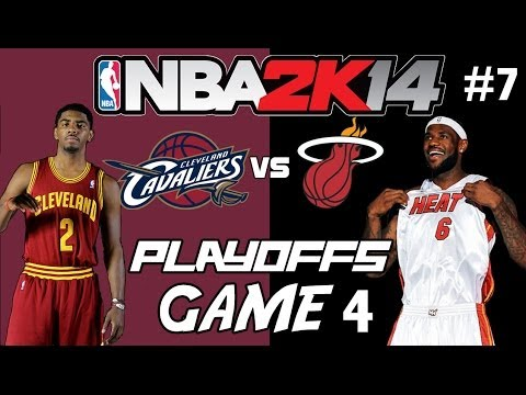 NBA 2K14 - MyGM Ep.7 | Cleveland Cavaliers | LeBron Returns to Cleveland for the Playoffs (R2G4)