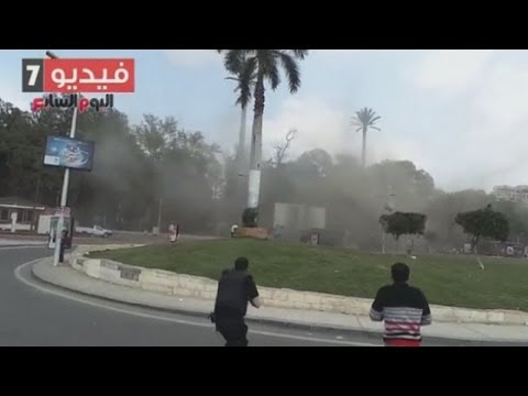 Twin bombing at Cairo University caught on film