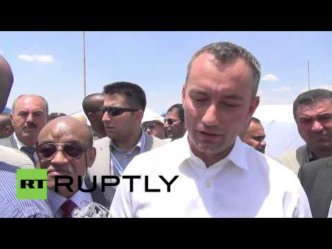 Iraq: UN rep visits refugees fleeing ISIS in Mosul