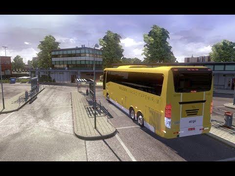 Euro Truck Simulator 2 : Viagem de ônibus # 1