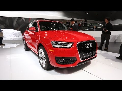 Audi Q3 at the Detroit Auto Show | Consumer Reports