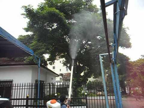 Fumigadora blower ECOMAX Ref. FE420 con extensión de 2 mts