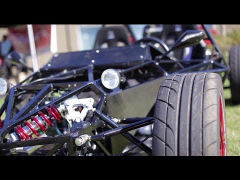 Hayabusa Powered Street Legal Custom Kit Car Youtube