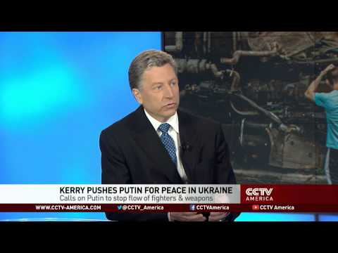 Kurt Volker on Ukraine peace plans