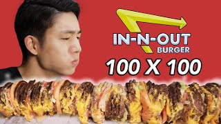 The In-N-Out 100x100 Burger Challenge