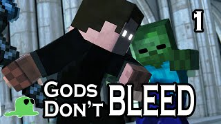 """Gods Don't Bleed"" EPIC FIGHT Minecraft Animation"
