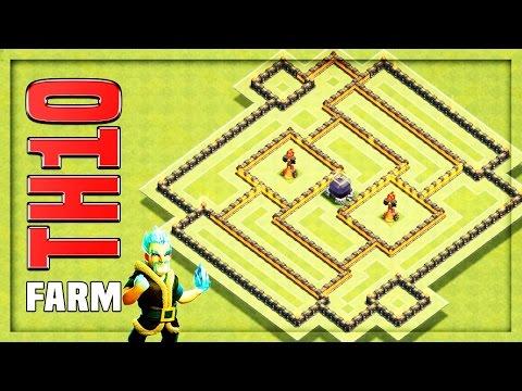 TH10 Farming Base #10 + Replays 🔸 TH10 HYBRID BASE - Island Inferno 🔸 Clash of Clans