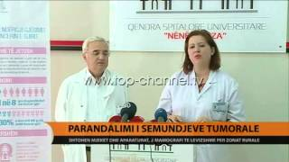 Parandalimi i smundjeve tumorale  Top Channel Albania  News  L