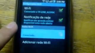 Android Como Configurar A Internet Wifi