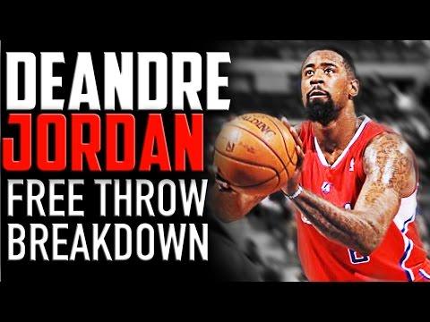 DeAndre Jordan Free Throw Breakdown: NBA Shooting Secrets