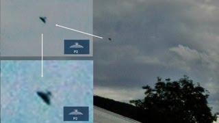 Le foto scattate da un testimone oculare in Svezia a contatto con gli alieni