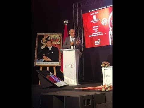 استقبال خاص للسيد ادريس بوجوالة بمعرض مراكش للصناعة التقليدية