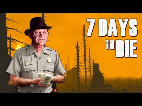 CAMP ZOMBIE ★ 7 Days to Die (11) - Zombie Games