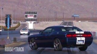 Dodge Challenger SRT8 392 vs. Shelby GT350 videos