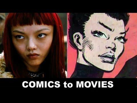 The Wolverine 2013 - Rila Fukushima is Yukio!  From Comics to Trailer to Movie!