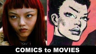 The Wolverine 2013 Rila Fukushima Is Yukio! From Comics