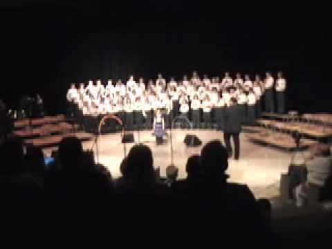 Детский хор исполняет Still Alive