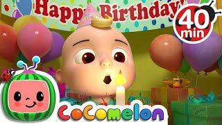 Happy Birthday Song | +More Nursery Rhymes & Kids Songs - ABCkidTV