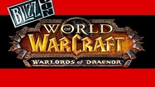 World Of Warcraft Warlords Of Draenor Announcement