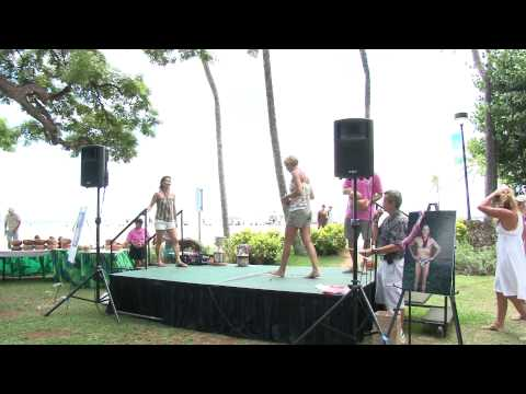 AWARDS FEMALE AGE GROUP  40yrs to 44yrs  2011 Waikiki Rough Water Swim