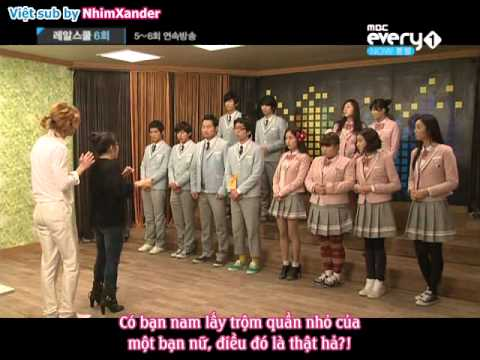 [Vietsub] 110117 Real School Episode 06 (with Eli, Dongho and Kiseop)