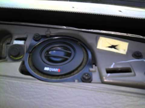 2003 Jeep Liberty sound system upgrade - YouTube