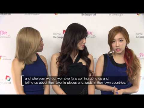Video Message from Girls' Generation on Korea Tourism