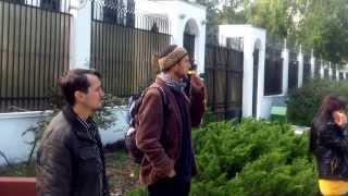 Свободу Полит-заключенным! Protest Hyde Park la ambasada rusă