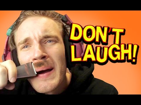TRY NOT TO LAUGH! **moustache edition**