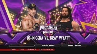 WWE 2K14 John Cena Vs Bray Wyatt WrestleMania 30