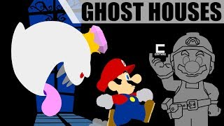 Ghost Houses and Item Conjuration in Super Mario Maker!
