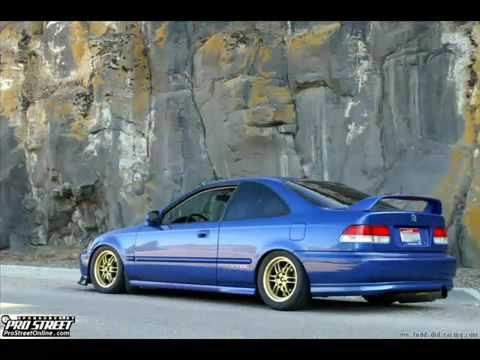 honda civic coupe tribute 90 39 s civic youtube. Black Bedroom Furniture Sets. Home Design Ideas