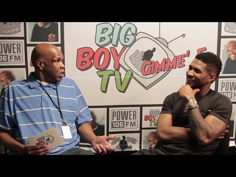"Usher Speaks on Ratchet Groupies, Smashing to His Own Music, Good ""Kissers"" and More! 
