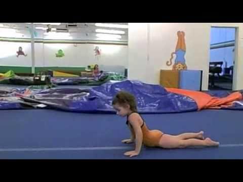 Gymnastics Floor Routine Level 1, 2, and 3