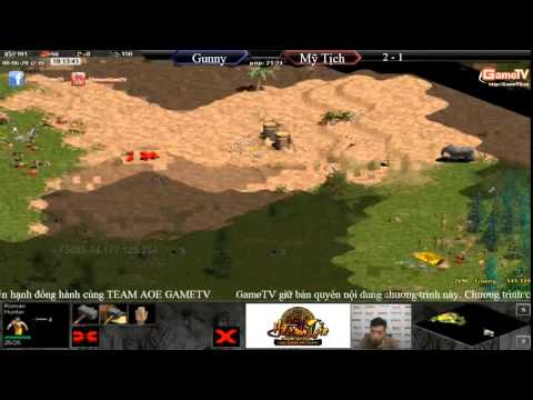 AOE mới nhất Gunny vs Mỹ Tịch T4 ngày 30 6 2015