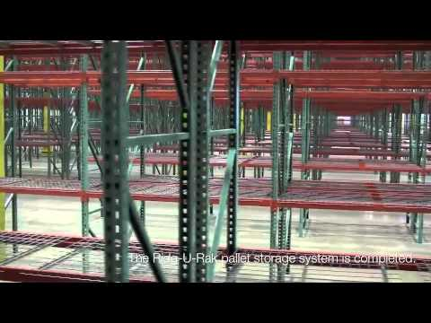 Warehouse Space Planning - 9000+ Pallet Position Racking System by AK Material Handling Systems