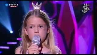 "Filipa Ferreira - ""You Raise Me Up"" - Gala - The Voice Kids"