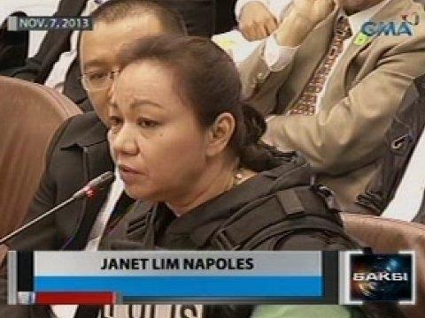Saksi: Janet Lim-Napoles, ikinanta na ang kanyang nalalaman sa pork