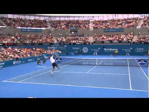 Marinko Matosevic v Julien Benneteau - Highlights Men's Singles Round 1: Brisbane International 2014