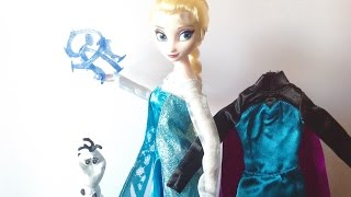 Disney Store: Frozen Deluxe Singing Elsa Doll Review