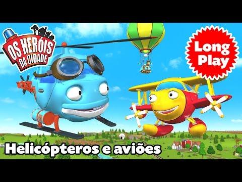 Os Heróis da Cidade - Helicópteros e aviões