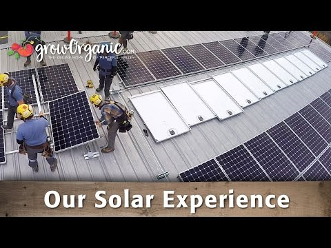 Our Solar Experience