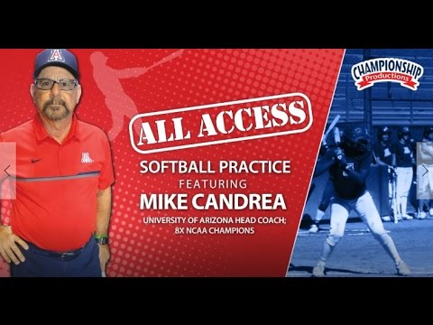 Go Inside Arizona Softball Practice with Mike Candrea!