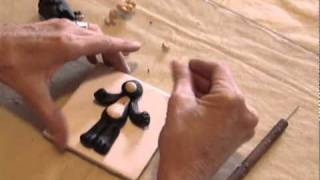 Polymer Clay Tutorial How To Make A Black Bear